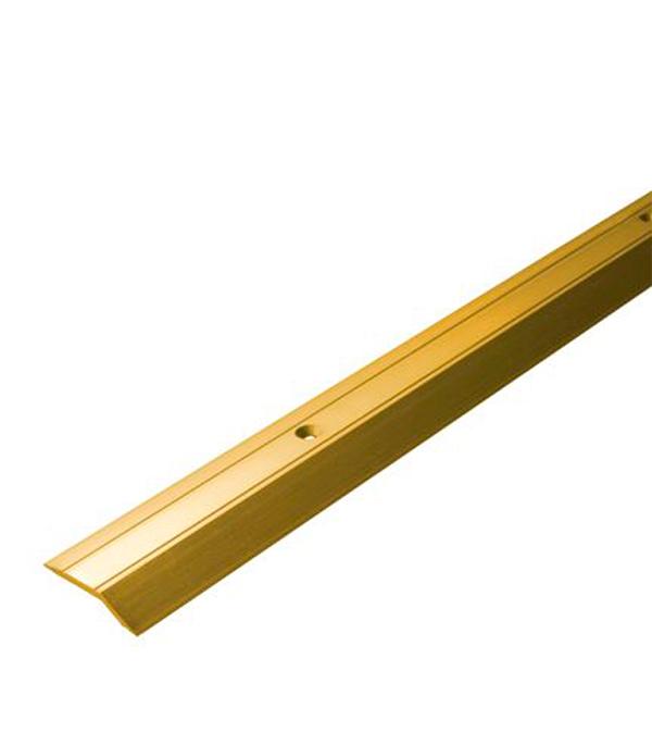 Порог С1 разноуровневый 32х900 мм перепад до 3,2 мм золото