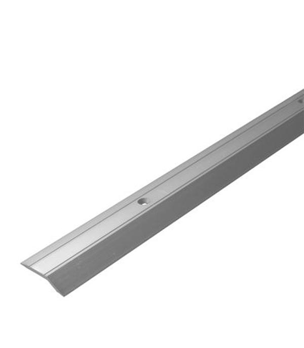 Порог С1 разноуровневый 32х900 мм перепад до 3,2 мм серебро