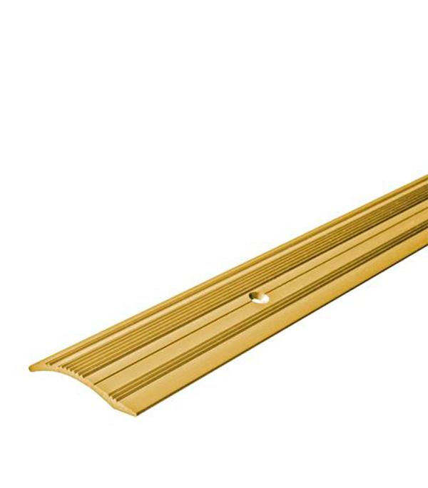 Порог С4 разноуровневый 39,4х1800 мм перепад до 10 мм золото