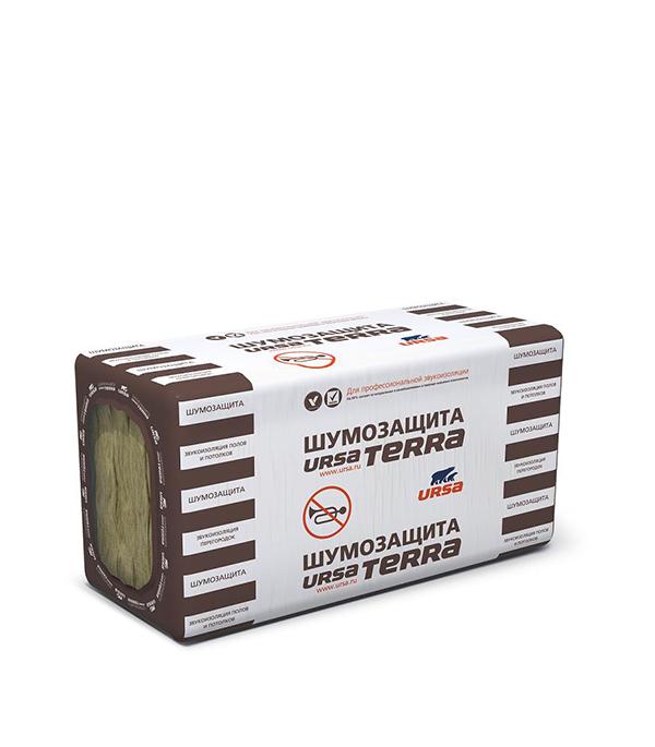 Утеплитель Ursa Terra Шумозащита 1000х610х50 мм 6.1 кв.м утеплитель лайт 6250х1200х50 мм урса ursa