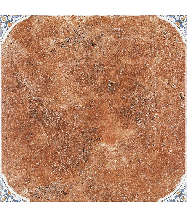 Керамогранит 500х500х9 мм Мадейра 4-1 коричневый/Керамин (5шт=1,25 кв.м)