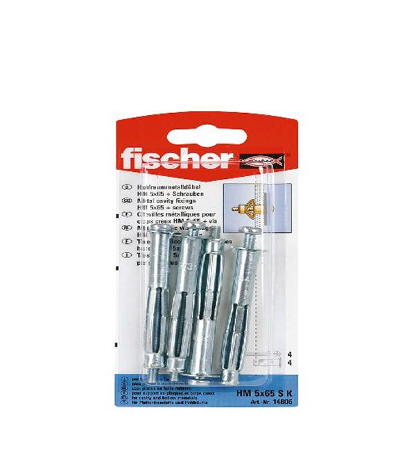 Дюбель для листовых материалов и плит HM 6/37 SK (4 шт.) Fischer