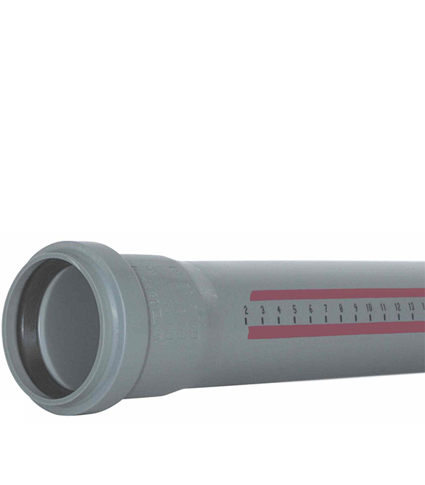 Труба канализационная внутренняя 32 х 1000 мм Ostendorf