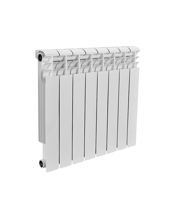 Радиатор биметаллический 1 Rommer Profi 500,  8 секций радиатор отопления rommer optima bm 500 биметаллический 8 секций