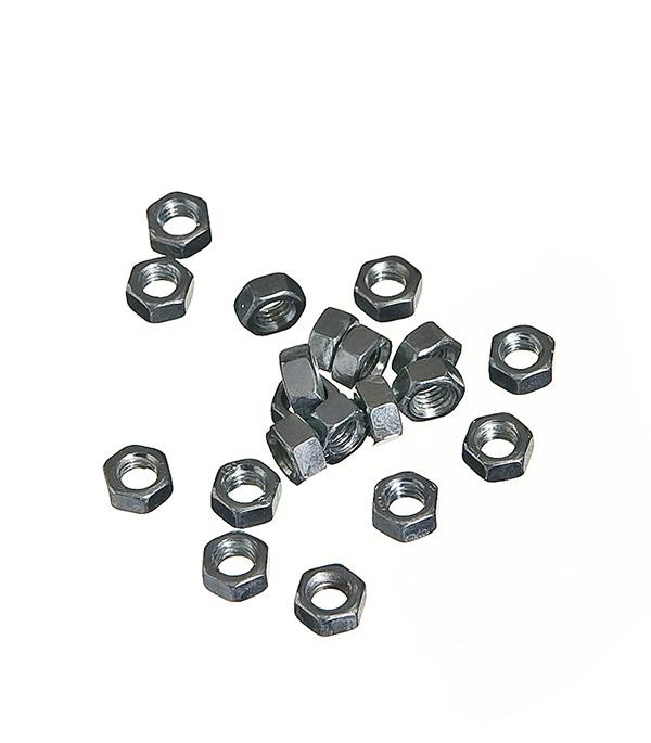 Гайки оцинкованные М5 DIN 934 (400 шт) гайки оцинкованные м20 din 934 7 шт