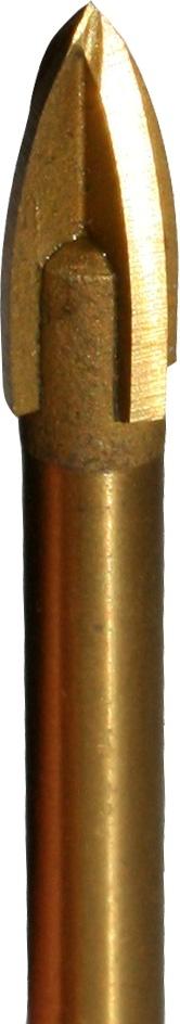 Сверло по кафелю, стеклу   6х72 мм (квадро) Стандарт