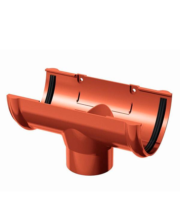 Воронка желоба пластиковая d90 красная Технониколь