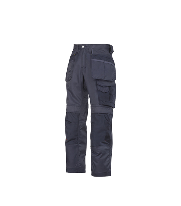 Брюки синие, размер 52, рост 170-182 Snickers workwear Профи