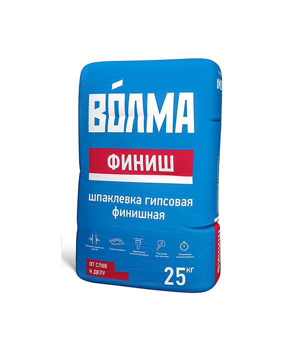 Шпаклевка гипсовая ВОЛМА Финиш 25 кг галька морская бежевая фракция 5 10 мм 1 кг