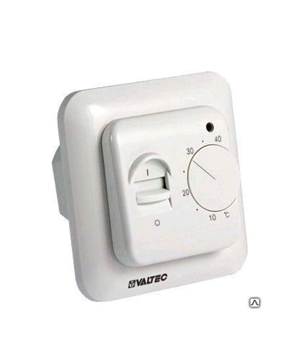 Термостат механический с датчиком температуры пола для водяного теплого пола Valtec пенополистирол knauf therm для устройства водяного теплого пола 1200х600х47 мм