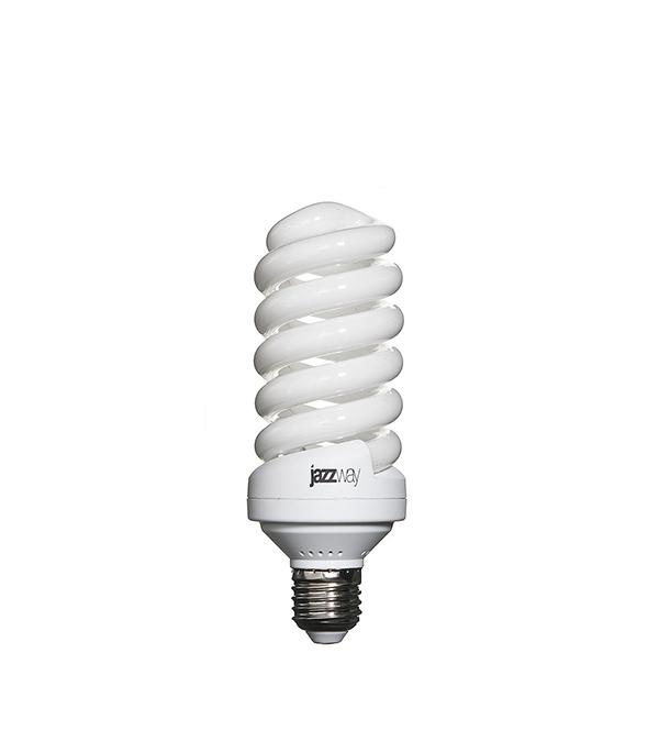 Лампа энергосберегающая E27, 32W, Spiral , 4000K (холодный свет), Jazzway
