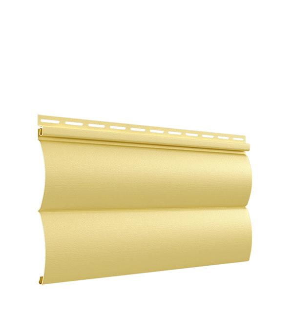 Сайдинг Vinyl-On BlockHouse  3000х230 мм кремовый угол внутренний 3000 мм цвет белый