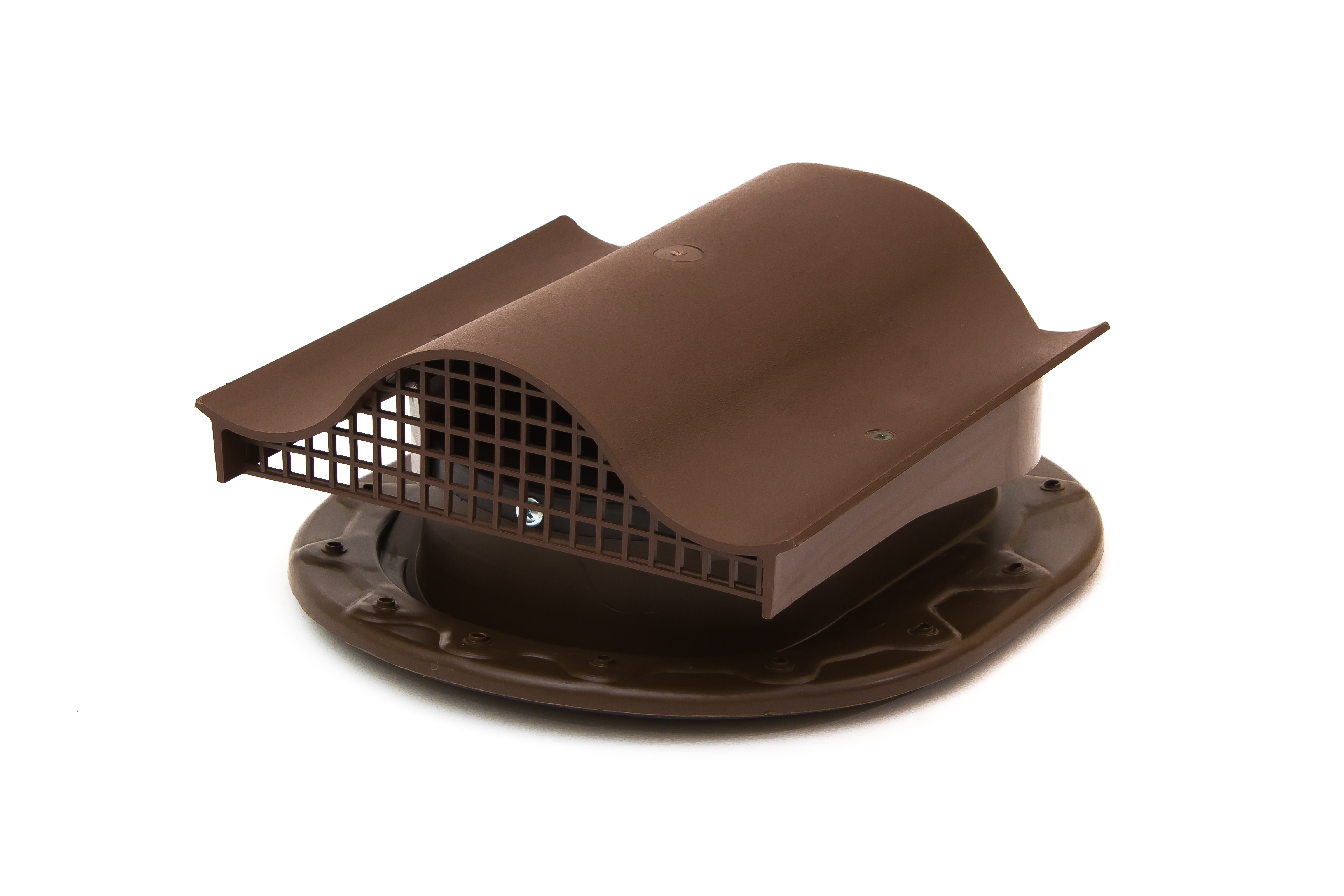 Аэратор Поливент-КТВ-вентиль для готовой кровли из битумной черепицы коричневый