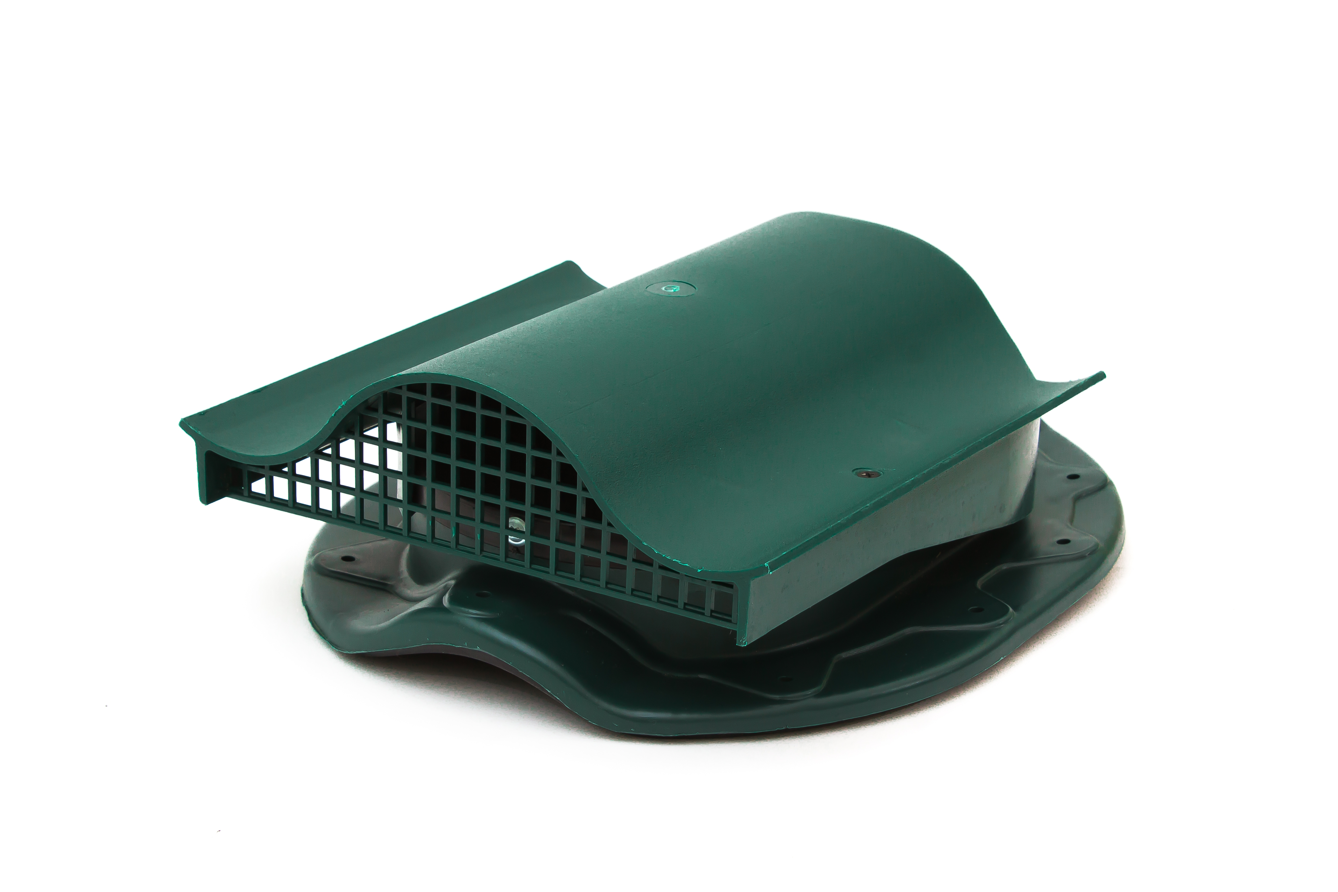 Аэратор Поливент-КТВ-вентиль для готовой кровли из металлочерепицы  зеленый