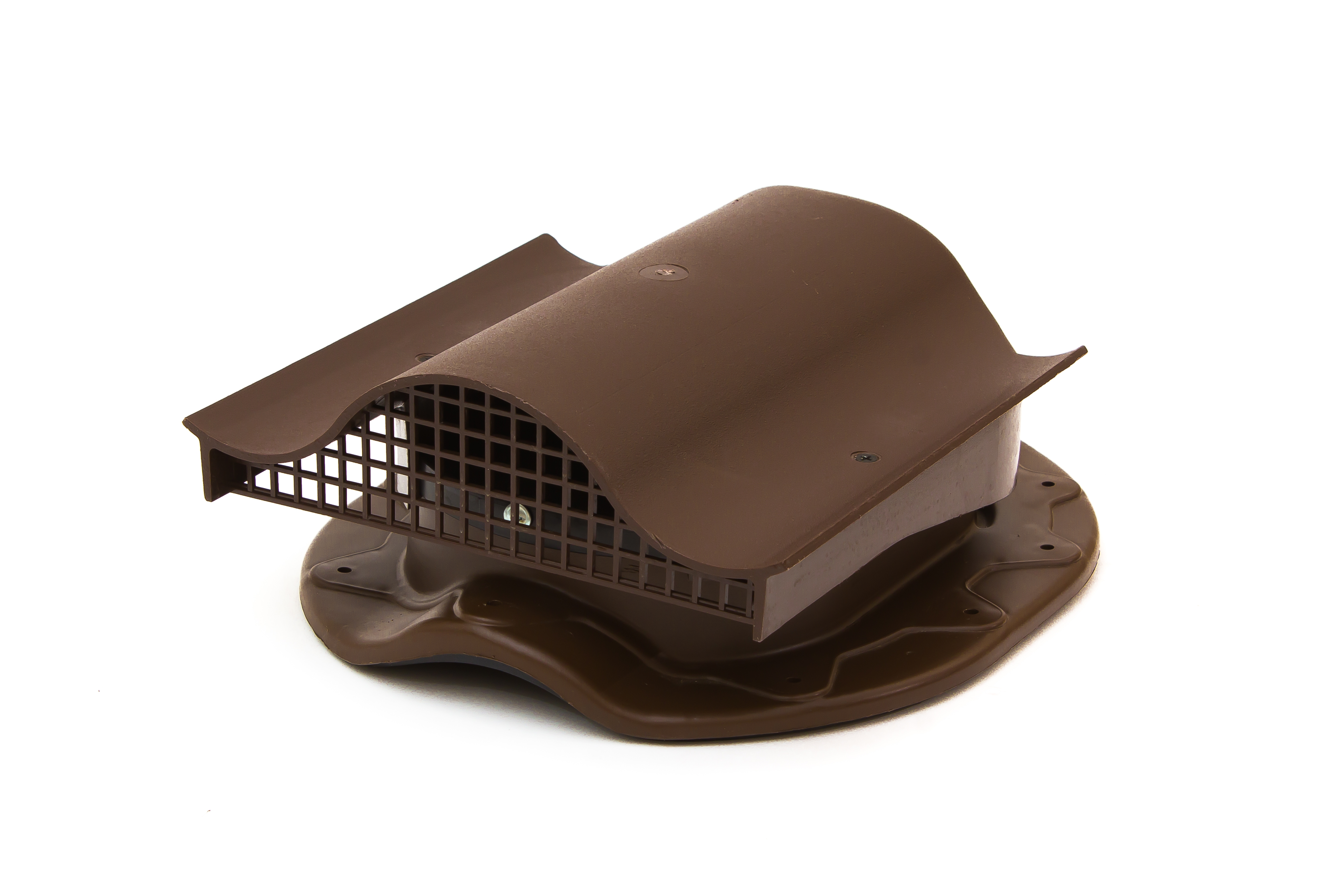 Аэратор Поливент-КТВ-вентиль для готовой кровли из металлочерепицы  коричневый