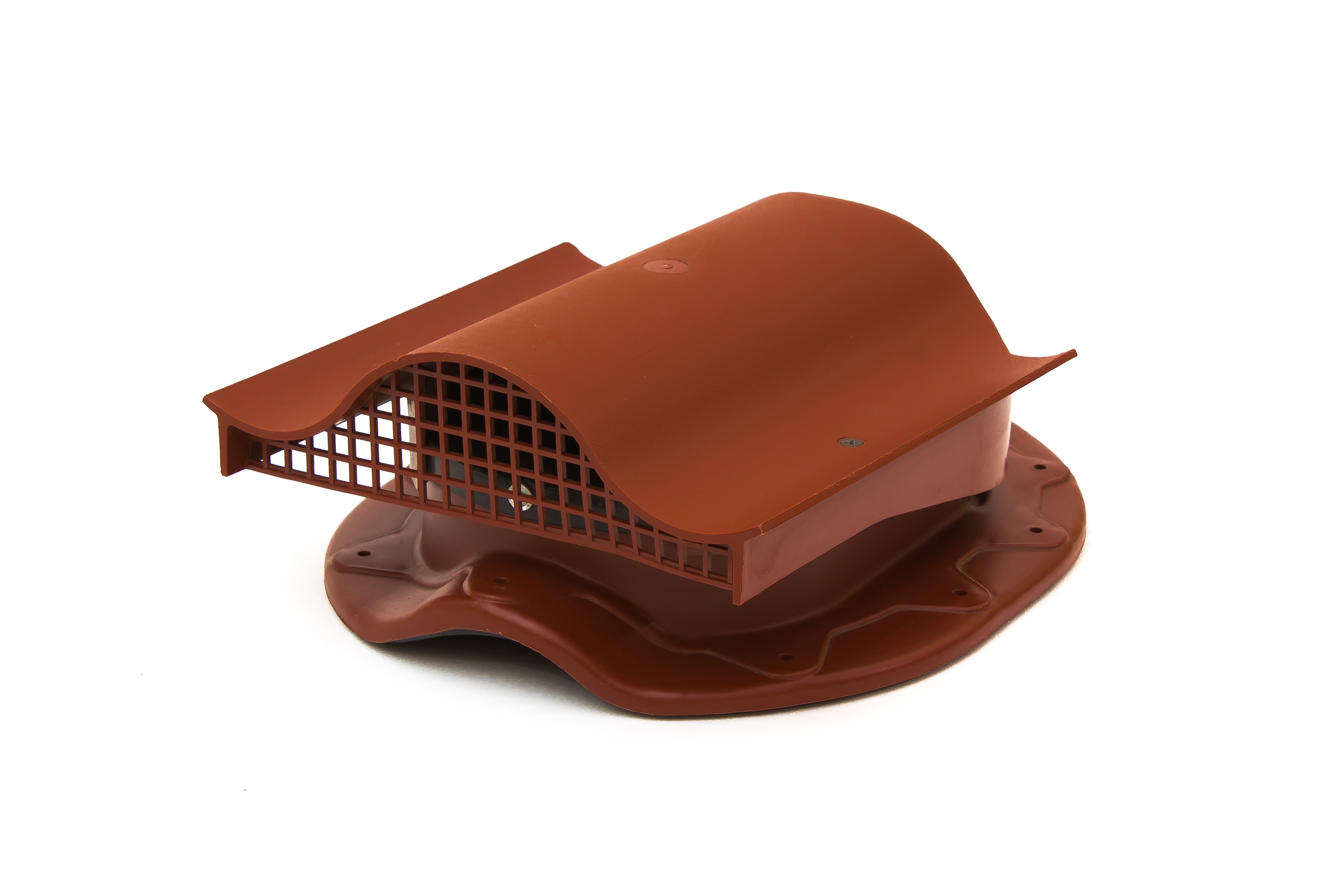 Аэратор Поливент-КТВ-вентиль для готовой кровли из металлочерепицы  красный