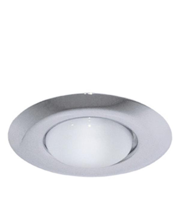 Светильник встраиваемый круглый хром 1хR50 220В IP20 WL-273