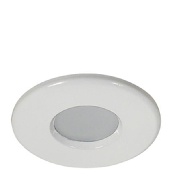 Светильник встраиваемый круглый белый 1х50W (MR16,12В), IP44 (влагозащищенный), WL-670