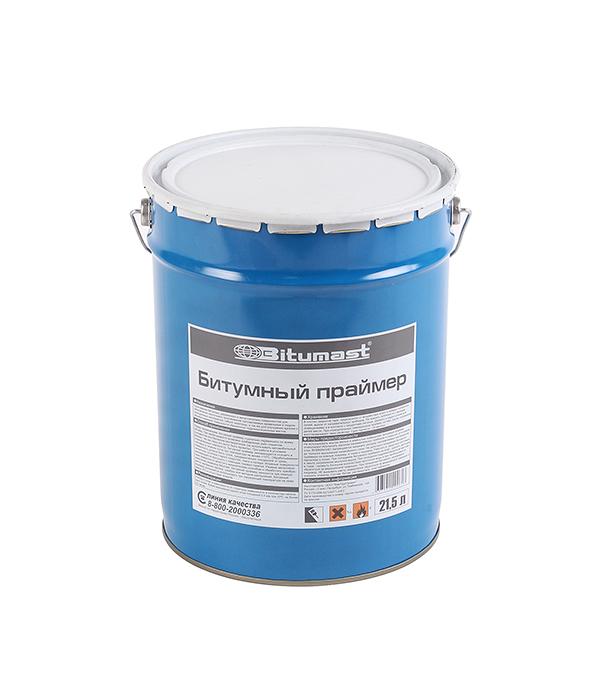 Праймер битумный Bitumast 18 кг/21.5 л гидроизоляция акриловая bitumast 20 кг