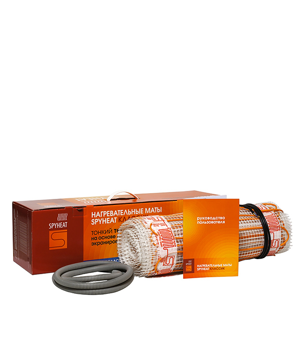 Теплый пол комплект нагревательный мат SPYHEAT  12,0 м.кв. 150 Вт (1800 Вт)