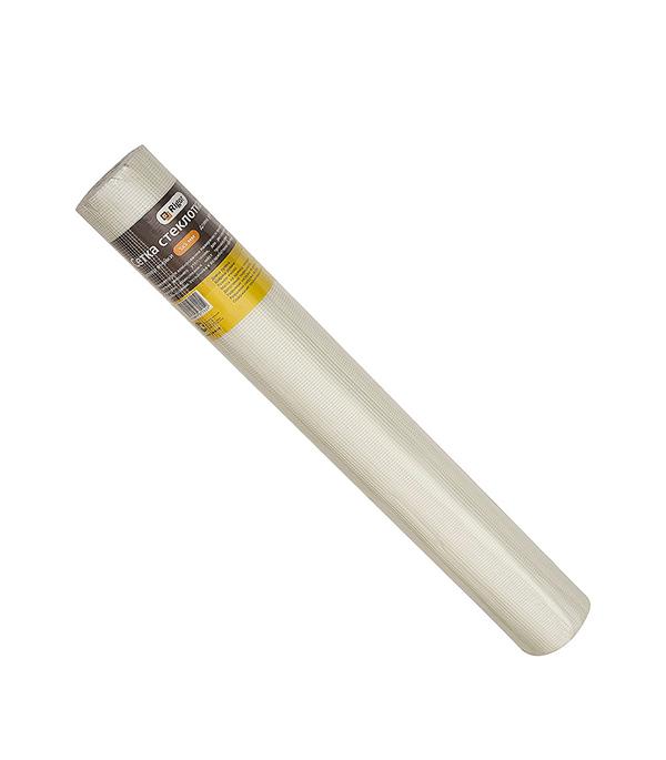 Сетка стеклотканевая Rigor Профи ячейка 5х5 мм рулон 1х50 м  сетка самоклеящаяся rigor 50 45 мм х90 м профи