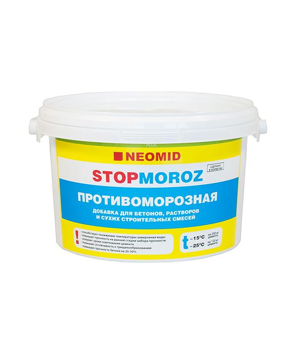 Антифриз NEOMID Nitcal добавка для растворов 3 кг противоморозная добавка с пластификатором 10л