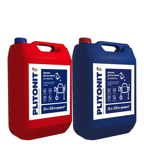 Антифриз PLITONIT АнтиМороз 10 л антифриз неомид nitcal добавка для растворов 3 кг