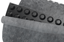 Профилированная мембрана PLANTER geo 2х15 м высота шипа 8 мм