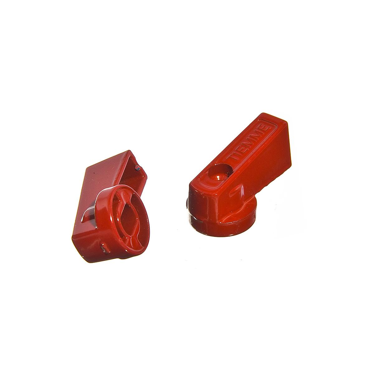 Ручки для коллектора красные Tiemme (2 шт) kitchenaid набор прямоугольных чаш для запекания 0 45 л 2 шт красные