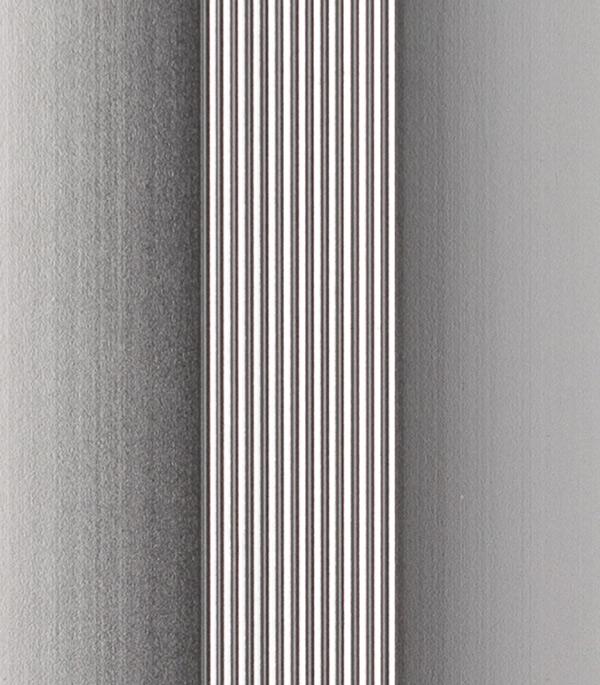 Порог стыкоперекрывающий 60х900 мм алюминий