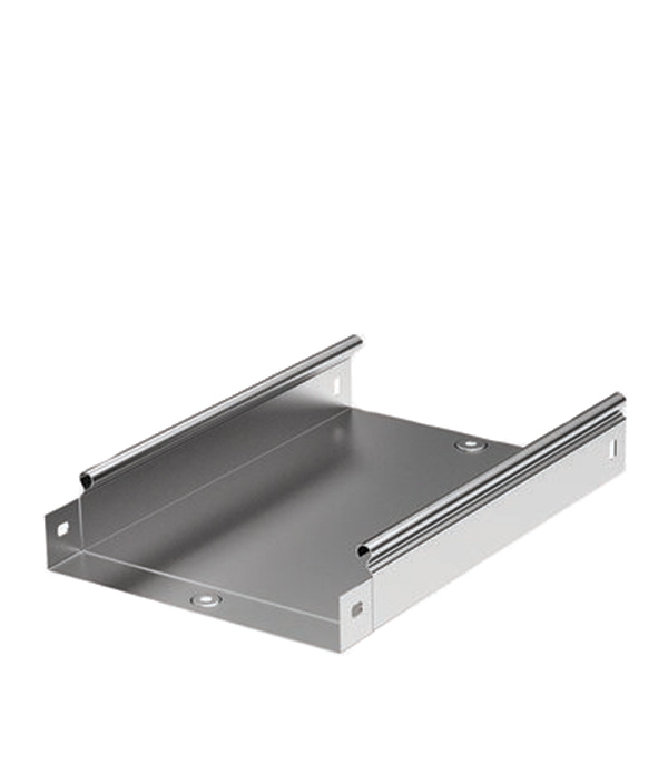 Лоток металлический неперфорированный 50х50 мм 3 м ДКС