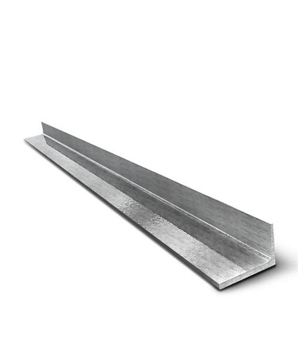 Угол алюминиевый 25x25x2x 2000 мм анодированный