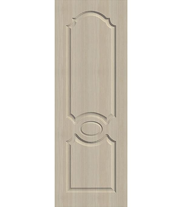 Дверное полотно экошпон Афина Беленый дуб мелинга 8М 700х2000 мм без притвора арка межкомнатная симплекс рено малая мдф набор без отделки