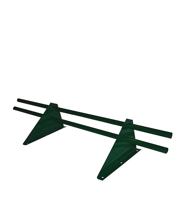 Снегозадержатель трубчатый 3 м зеленый RAL 6005