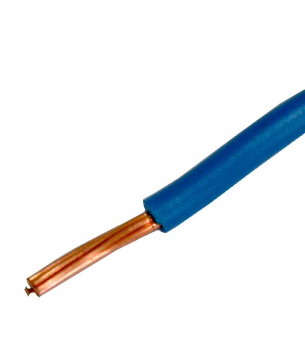 Провод ПВ3 (ПуГВ) 1х10 синий (100 м)