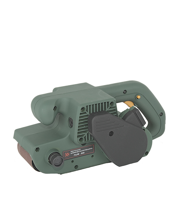 Шлифмашина ленточная ЛШМ-800, 900 Вт, 76х533 мм Калибр