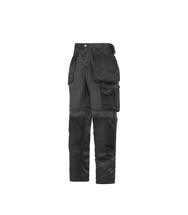 Брюки черные, размер 46, рост 170-182 Snickers workwear Профи