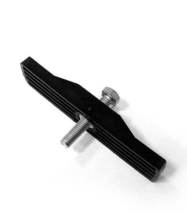 Крепеж к лотку водоотводному Gidrolica пластиковому железные решетки