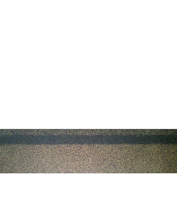 Черепица битумная коньково-карнизная ШИНГЛАС, микс коричневый