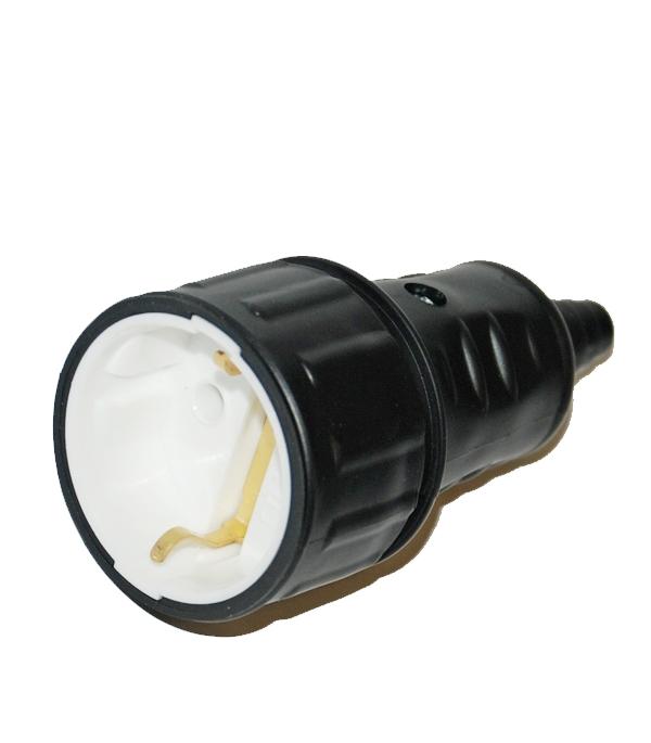 Розетка каучуковая с заземляющим контактом настенная однофазная каучуковая розетка с заглушкой universal 602229
