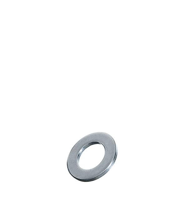 Шайбы оцинкованные 5х10 мм DIN 125А (500 шт) шайбы оцинкованные 10х20 мм din 125а 100 шт