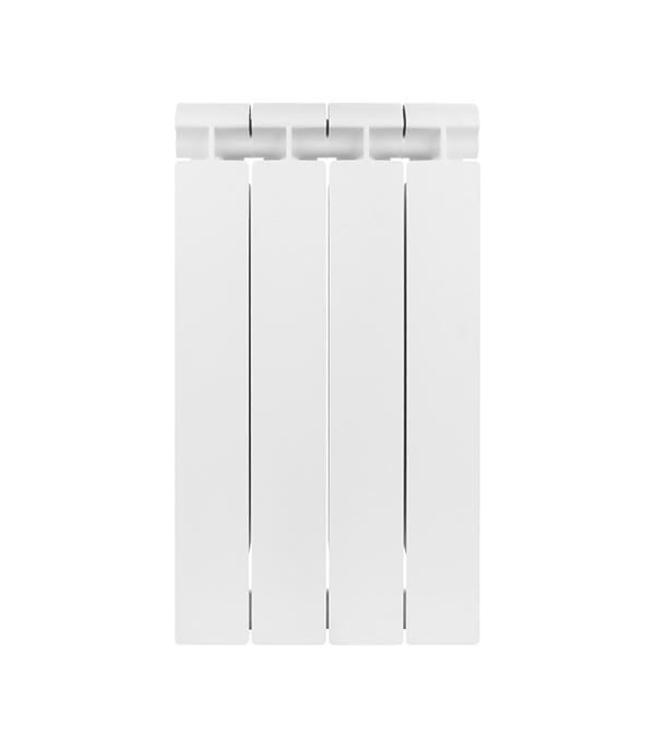 Радиатор биметаллический 1 Global Style Extra 500,  4 секций радиатор отопления global алюминиевые vox r 500 12 секций