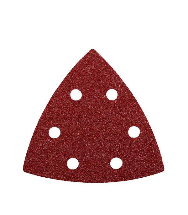 Шлифлист треугольный KWB Стандарт для МФУ P60 (6 шт)  шлифпластина треугольная для мфу kwb стандарт