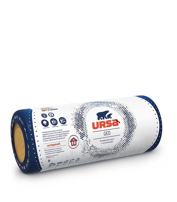 Утеплитель Ursa Geo М-11 7000х1200х100 мм 8.4 кв.м урса geo м 11 7000 1200 100 мм 8 4 кв м