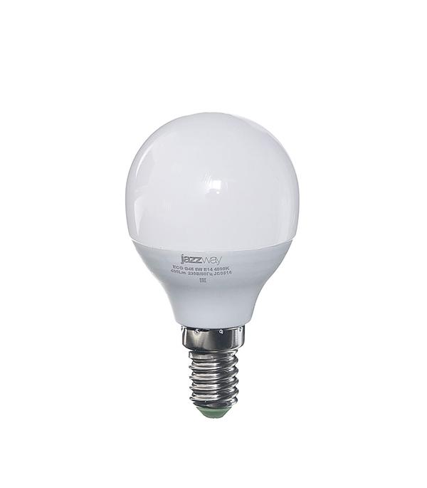 Лампа светодиодная E14 5W G45 4000K Jazzway