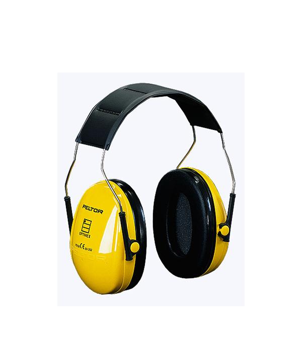 Наушники складные желтые 3М Профи