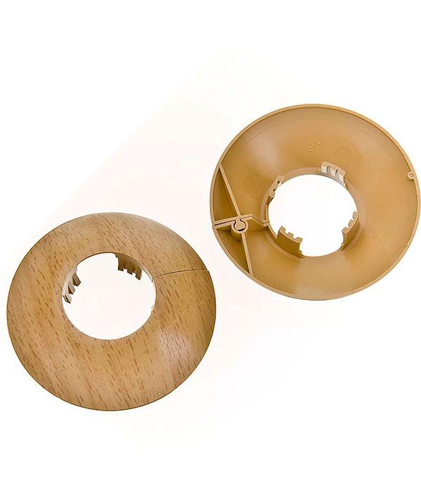Накладка декоративная на трубу d=26 мм бук (2 шт)