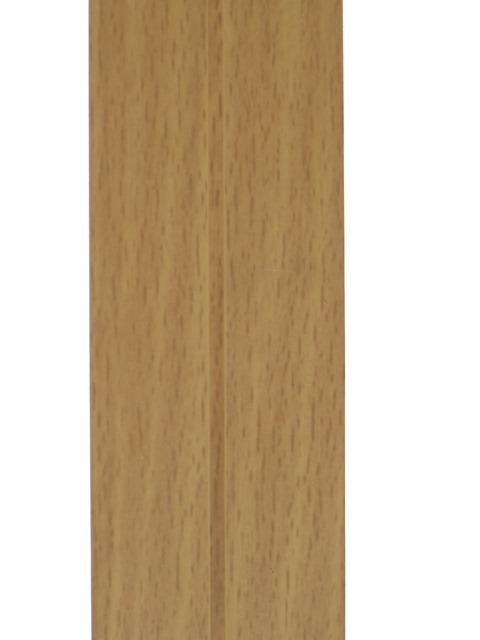 Уголок пластиковый универсальный  гибкий 20х20х2700 мм бук натуральный 155