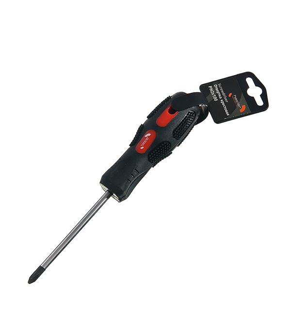 Отвертка крестовая Hesler PH2 100 мм крестовая отвертка pz2х100 мм центроинструмен 722 100