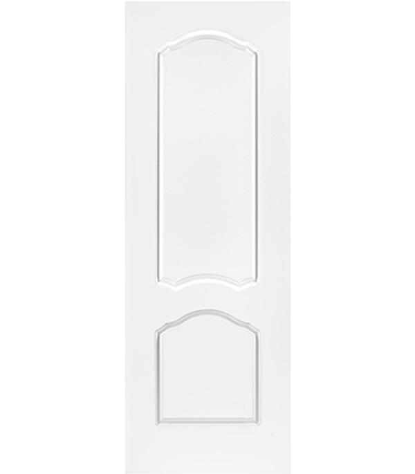Дверное полотно белое глухое эмалевое Арктика 600х2000 мм